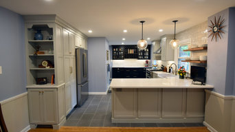 Gray & Black Kitchen