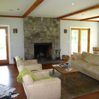 Furnace Brook Farmhouse Eclectic Living Room New