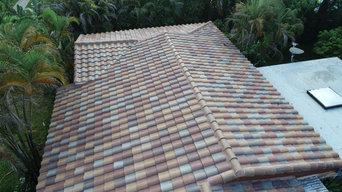 American Harvest Tile Roof