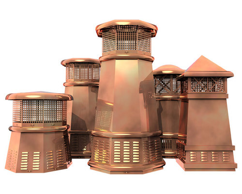 European Copper Chimney Caps