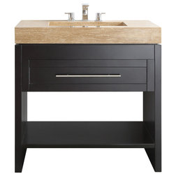 Stunning Transitional Bathroom Vanities And Sink Consoles by Vinnova