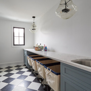 New Farmhouse  - Laundry Room