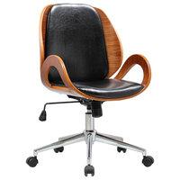 Mira Adjustable Desk Chair, Black