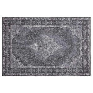 Retro Vintage Chenille Rug, Dash Grey, 160x240 cm