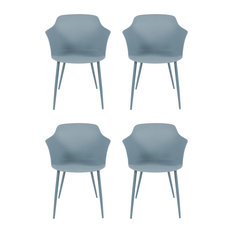 Chester Dining Chairs, Blue-grey, Set of 4