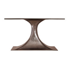 Stockholm Oval Dining Table Base Only, Bronze