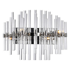 Miroir 4 Light Vanity Light - Polished Nickel