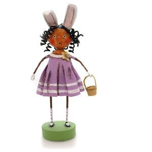 Lori Mitchell BREWSTER WILLIAMS Polyresin Bunny Ears Basket 11002