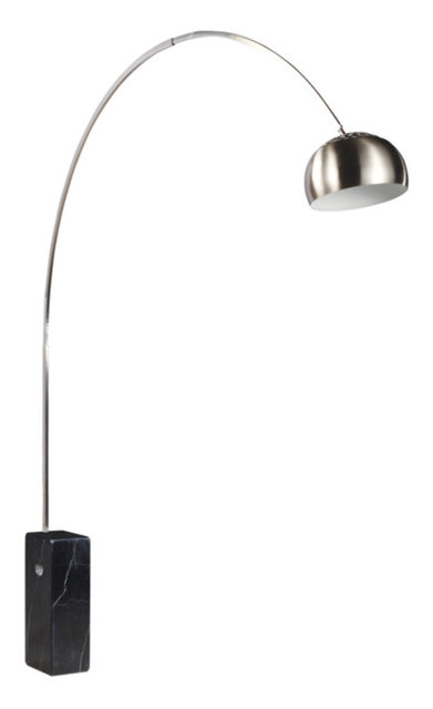 Modern Classics Arch Lamp Big Base, Black