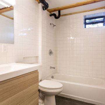 Ground floor bath.