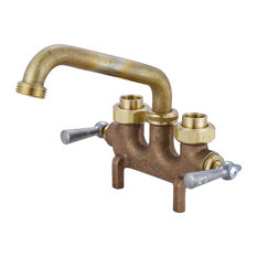 Central Brass - Two Handle Laundry Faucet - Utility Sink Faucets
