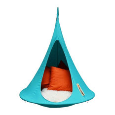 Cacoon   Cacoon Bonsai Childrenu0027s Hanging Hammock, Turquoise   Hanging  Chairs