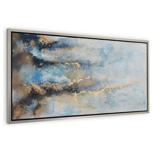 Rising River Flow Framed Artwork