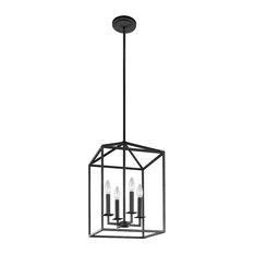 Sea Gull Lighting 4-Light Hall/Foyer, Blacksmith