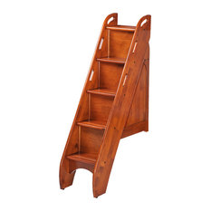 Bunk Storage Stairs (For Use With Cinnamon Twin/Twin & Full/Full Only), Cherry