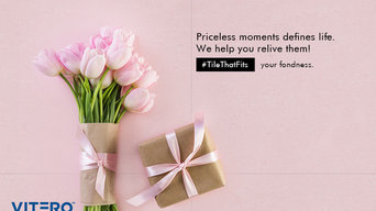 Vitero tiles - Priceless moment defines life...We help you relive them!