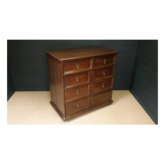 Attractive 18thC Oak Chest of drawers
