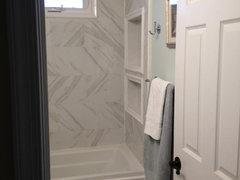 Porcelain Carrara Marble Lookalike Tile - Carrara gris porcelain tile