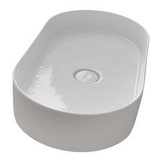 Hide Round Vessel Sink, Oval
