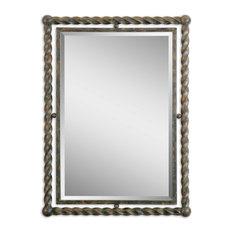 Uttermost Garrick Wrought Iron Mirror