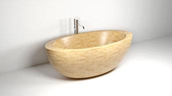 "Ванна из ясеня ""Лавена"" | Wooden bathtub ""Lavena"" (ash)"