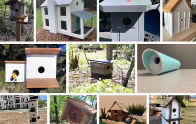 These Incredible Birdhouses Were Made From Recycled Materials