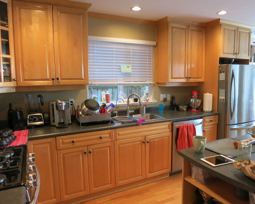 Low Cost Kitchen Makeover Painted Cabinets