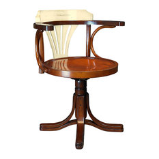 Purser's Chair, Black, Ivory