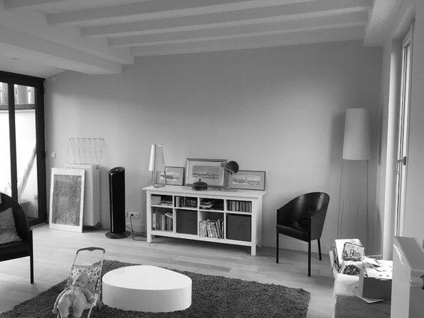 Pièce de la semaine : Une pièce à vivre structurée avec caractère
