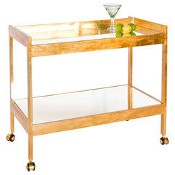 Contemporary Bar Carts by Stephanie Cohen Home