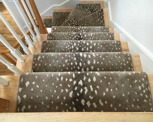 Stair Runner Rug Install 1 Rugs Black. Fabulous Leopard Print ...