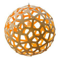 Orange pendant lights houzz david trubridge david trubridge coral kitset pendant 15 12 painted aloadofball Gallery