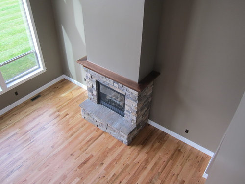 Red Oak Or Switch To Stained White