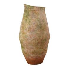 Verde Vase, Antique Green