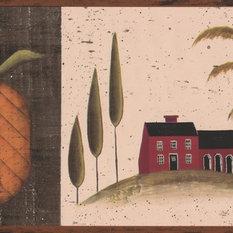 Pineapple Wallpaper Houzz