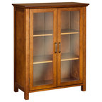 Elegant Home Fashions Neal Wall Cabinet With 2 Doors And 1