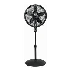 "Lasko Products, LLC - 18"" Cyclone Pedestal Fan With Remote Control, Black - Electric Fans"