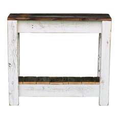 Combo Accent Table, White