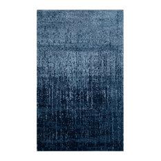 Studio Seven Retro Rug, Light Blue/Blue, 5'x8'