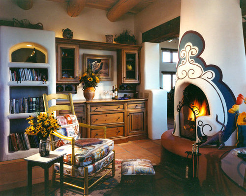 Kiva style fireplace ideas pictures remodel and decor for Kiva style fireplace
