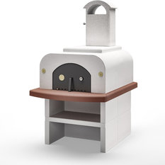 Piralla - Palazzetti Forno Wood Fired Oven Easy Large Completo - Outdoor Pizza Ovens