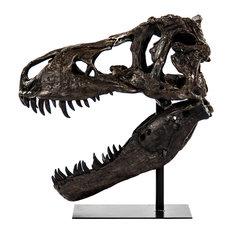 Dinosaur Skull Statue