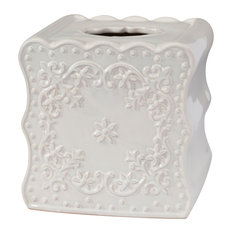 Ruffles Tissue Box Cover