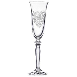 Eleanor Flute Glasses, Set of 6