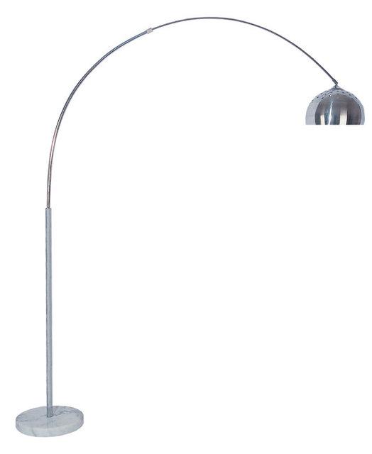 Skyler Adjustable 81 Arc Floor Lamp With Marble Base