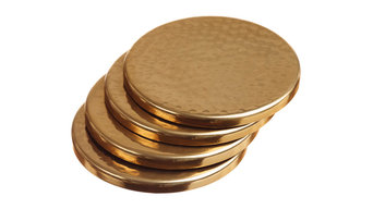 Hammered Coasters, Set of 4