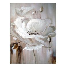 White Flower II Oil Painting