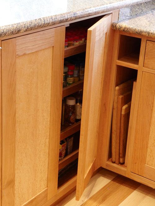 Cherry and birds eye maple kitchen marin ca for Birds eye maple kitchen cabinets