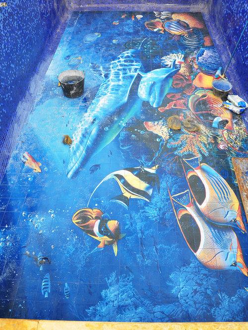 Decoracion de murales de azulejos para piscinas - Murales de azulejos ...
