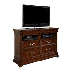 drawer combo dresser entertainment centers tv stands houzz. Black Bedroom Furniture Sets. Home Design Ideas